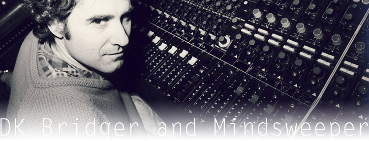 Dink Bridgers and Mindsweeper in the studio