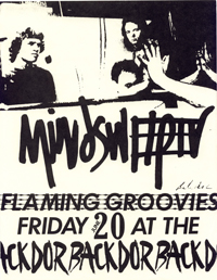 flaming groovies and mindsweeper